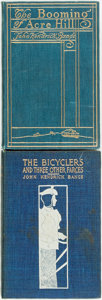 Books:Literature Pre-1900, John Kendrick Bangs. INSCRIBED. The Booming of Acre Hill[and:] The Bicyclers and Three Other Farces. New Yo...(Total: 2 Items)