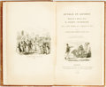 Books:Literature Pre-1900, George Cruikshank, illustrator. Sunday in London. London:Effingham Wilson, 1833. Octavo. 105 pages. Later full red ...
