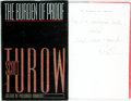 Books:Mystery & Detective Fiction, Scott Turow. INSCRIBED. The Burden of Proof. New York: Farrar Straus Giroux, [1990]. First trade edition. Inscribe...