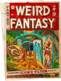 EC Weird Fantasy #8 Cover Silverprint Proof (EC, 1951)