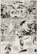 """Original Comic Art:Panel Pages, Don Heck and Frank Giacoia Avengers #28 """"Among Us Walks ...a Goliath"""" Page 14 Original Art (Marvel, 1966)...."""