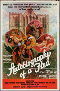 """Autobiography of a Flea (Mitchell Brothers Film Group, 1976). One Sheet (25"""" X 38""""). Adult"""
