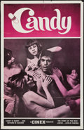 """Movie Posters:Adult, Candy (Cinex, 1971). One Sheet (28"""" X 43.5""""). Adult.. ..."""