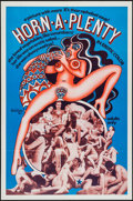 """Movie Posters:Adult, Horn-A-Plenty (Distribpix, 1970). One Sheet (27"""" X 41""""). Adult.. ..."""