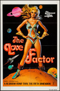 """Movie Posters:Science Fiction, Zeta One (Film Ventures International, 1975). One Sheet (27"""" X 41"""")Alternate Title: The Love Factor. Science Fiction.. ..."""