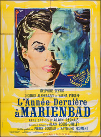 """Last Year at Marienbad (Cocinor, 1961). French Grande (46.5"""" X 62""""). Foreign"""