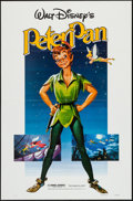 """Movie Posters:Animation, Peter Pan (Buena Vista, R-1982). One Sheet (27"""" X 41""""). Animation.. ..."""