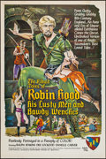 """Movie Posters:Adult, The Ribald Tales of Robin Hood (Entertainment Ventures, Inc., 1969). One Sheet (28"""" X 42""""). Adult.. ..."""