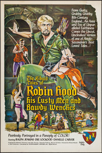 """The Ribald Tales of Robin Hood (Entertainment Ventures, Inc., 1969). One Sheet (28"""" X 42""""). Adult"""