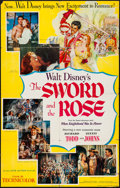 "Movie Posters:Adventure, The Sword and the Rose (RKO, 1953). One Sheet (28"" X 44"").Adventure.. ..."