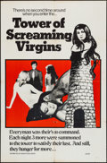 """Movie Posters:Adult, Tower of Screaming Virgins (Maron Films, 1968). One Sheet (27"""" X 41""""). Adult.. ..."""