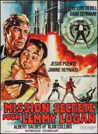 """Ypotron - Final Countdown (Multifilms-France Export, 1967). French Grande (46"""" X 62.5""""). Foreign"""