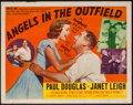 """Movie Posters:Sports, Angels in the Outfield (MGM, 1951). Half Sheet (22"""" X 28"""") Style B. Sports.. ..."""