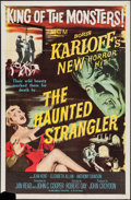 """Movie Posters:Horror, The Haunted Strangler (MGM, 1958). One Sheet (27"""" X 41""""). Horror.. ..."""