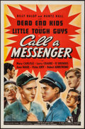 "Movie Posters:Crime, Call a Messenger (Universal, 1939). One Sheet (27"" X 41""). Crime....."