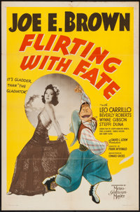 """Flirting with Fate (MGM, 1938). One Sheet (27"""" X 41""""). Comedy"""
