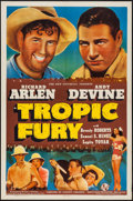 "Movie Posters:Adventure, Tropic Fury (Universal, 1939). One Sheet (27"" X 41""). Adventure....."