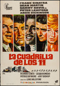 """Movie Posters:Crime, Ocean's 11 (Warner Brothers, R-1972). Spanish One Sheet (27.5"""" X39.5""""). Crime.. ..."""
