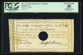 Colonial Notes:Connecticut, Connecticut Interest Certificate PCGS Apparent Extremely Fine 40.. ...