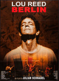 "Movie Posters:Rock and Roll, Lou Reed's Berlin (Fortissimo Films, 2008). French Grande (45"" X62""). Rock and Roll.. ..."