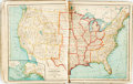 Books:Maps & Atlases, [Atlas]. A. von Steinwehr and D.G. Brinton. An Intermediate Geography with Lessons in Map Drawing. Cincinnati / New ...