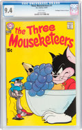 Bronze Age (1970-1979):Cartoon Character, The Three Mouseketeers #1 Don/Maggie Thompson Collection pedigree(DC, 1970) CGC NM 9.4 White pages....