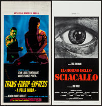 """The Day of the Jackal & Other Lot (CIC, 1973). Italian Locandinas (2) (13"""" X 27.5""""). Thriller. ... (Total:..."""