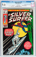 Bronze Age (1970-1979):Superhero, The Silver Surfer #14 Don/Maggie Thompson Collection pedigree(Marvel, 1970) CGC NM+ 9.6 White pages....