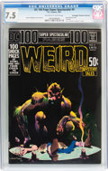 Bronze Age (1970-1979):Horror, DC 100-Page Super Spectacular #4 Weird Mystery Tales - Don/Maggie Thompson Collection pedigree (DC, 1971) CGC VF- 7.5 Off-whit...