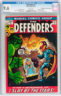 Bronze Age (1970-1979):Superhero, The Defenders #1 Don/Maggie Thompson Collection pedigree (Marvel,1972) CGC NM+ 9.6 White pages....