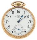 Timepieces:Pocket (post 1900), Ball 17 Jewel Open Face Pocket Watch. ...