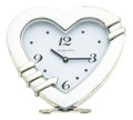 Timepieces:Clocks, Tiffany & Co. Heart Shape Alarm Table Clock. ...