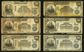 National Bank Notes:ZZZ, $5; $10; and $20 Series 1902 Date Backs and Plain Backs Group Lot.. ... (Total: 28 notes)
