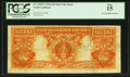 Error Notes:Major Errors, Fr. 1185* $20 1906 Gold Certificate PCGS Fine 15.. ...