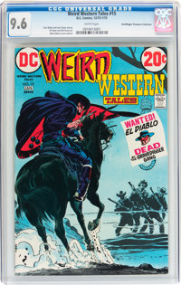 Weird Western Tales #15 Don/Maggie Thompson Collection pedigree (DC, 1973) CGC NM+ 9.6 White pages