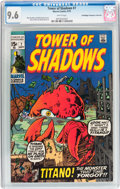 Bronze Age (1970-1979):Horror, Tower of Shadows #7 Don/Maggie Thompson Collection pedigree(Marvel, 1970) CGC NM+ 9.6 White pages....
