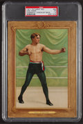 Boxing Cards:General, 1911 T9 Turkey Red William Papke #64 PSA Fair 1.5....