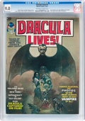 Magazines:Horror, Dracula Lives! Group (Marvel, 1973-74) Condition: Average CGC VF/NM 9.0.... (Total: 4 Items)