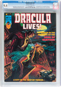 Magazines:Horror, Dracula Lives! #10-13 CGC-Graded Group (Marvel, 1975) Condition: Average CGC NM 9.4.... (Total: 4 Items)