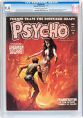 Magazines:Horror, Psycho #5-7 CGC-Graded Group (Skywald, 1971-72).... (Total: 3 Items)