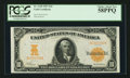 Large Size:Gold Certificates, Fr. 1168 $10 1907 Gold Certificate PCGS Choice About New 58PPQ.....