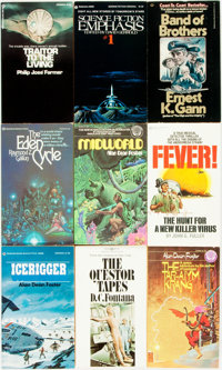 [Genre Paperbacks]. Group of Forty-Two Ballantine Paperbacks. New York: Ballantine, [1970-80s]. Includes works by Ric
