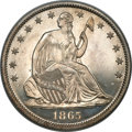 Patterns, 1865 50C Half Dollar, Judd-429, Pollock-502, Low R.7, PR66 NGC....