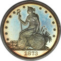 Patterns, 1873 T$1 Trade Dollar, Judd-1293, Pollock-1435, R.4, PR64 NGC. CAC....