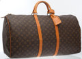 Luxury Accessories:Travel/Trunks, Louis Vuitton Classic Monogram Canvas Keepall 60 Weekender Bag ....