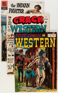 Comic Books - Assorted Silver Age Western Comics Group (Various Publishers, 1950s-'60s) Condition: Average GD/VG.... (To...