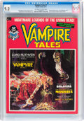 Magazines:Horror, Vampire Tales #1 (Marvel, 1973) CGC NM- 9.2 Off-white to white pages....