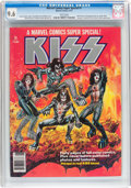 Magazines:Miscellaneous, Marvel Comics Super Special #1 Kiss (Marvel, 1977) CGC NM+ 9.6White pages....