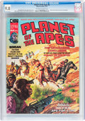 Magazines:Science-Fiction, Planet of the Apes #6 (Marvel, 1975) CGC NM/MT 9.8 Off-white towhite pages....