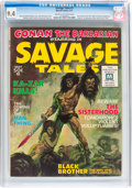 Magazines:Adventure, Savage Tales #1 (Marvel, 1971) CGC NM 9.4 Cream to off-white pages....